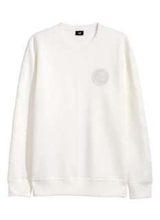 The Weeknd X H&M White Sweater - sold out in stores