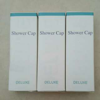 #Blessing📬3 x Brand New Deluxe Shower Cap