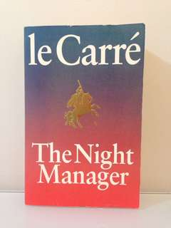 John le Carré - The Night Manager #bookbazaar