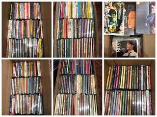 300多套80-90年代絕版電影VCD