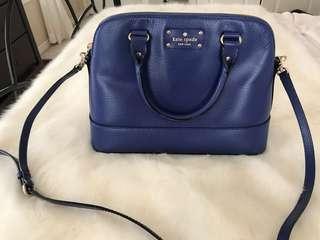 Kate Spade Handbag Navy Blue