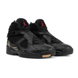 Jordan OVO 8 Black Size 8 DS