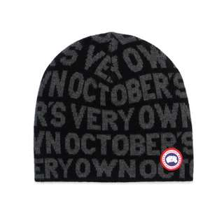 OVO October's Very Own x Canada Goose Boreal Beanie (Black/White)