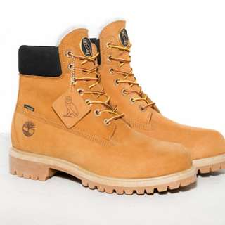 OVO October's Very Own x Timberland Boots Size 9.5 (Wheat/Black)
