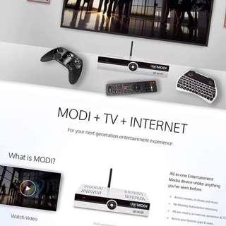 MODI all in one entertainment device