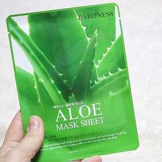 10 PCS  aloe vera mask sheet