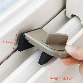 Security Sliding Door Window Lock Safety Lock Sliding Sash Stopper For Kids Baby Child Security Sliding Door Window Lock Safety Lock Sliding Sash Stopper Kid