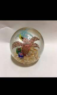 Glass Ball Display / Paper Weight
