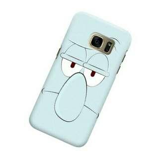 Squidward Samsung Galaxy S7 Custom Hard Case