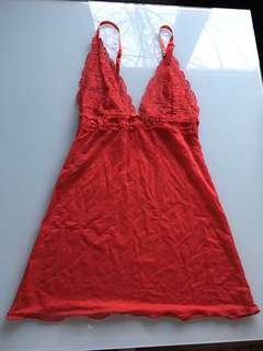 Red chemise