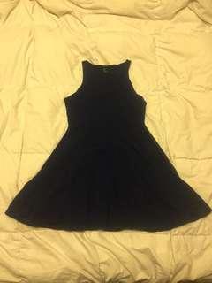 🔶 Forever 21 - Dark Blue Sleeveless Dress (SM)