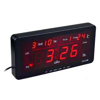 LED Digital Clock (Because we're now living on a Digital World)