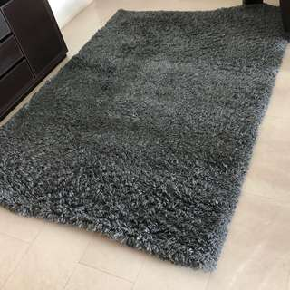 Soft high-pile Large (170X240cm) rug - free delivery