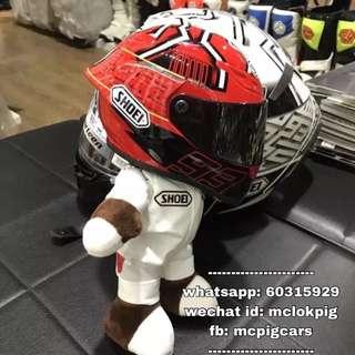 shoei紅螞蟻頭盔