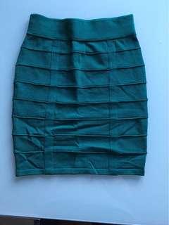 Material girls bodycon skirt