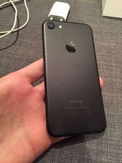 Iphone 7 32 gb mate black mulus