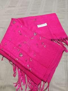 Pink Cashimere Scarf
