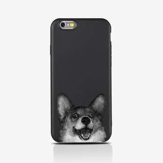 Husky matte soft case iphone  case