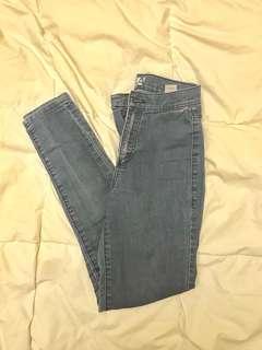 🔷 Garage - Blue High Waisted Jeans (SZ 0)
