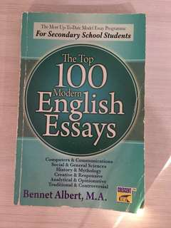 English Essay Book