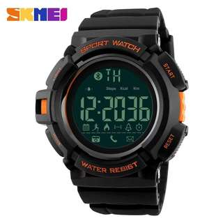 Skmei 1245 orange smart Bluetooth watch