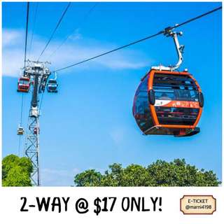 Cable Car 2-Way Etickets