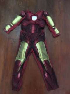 Iron man costume with foam for 5 years old
