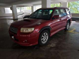 Subaru Forester 2.5A Turbo 2007/08 Sunroof
