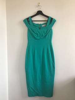 Coast green cocktail / party dress