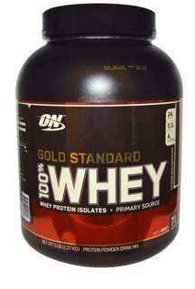 ON Optimum nutrition Gold Standard 100% Whey Chocolate 5lbs