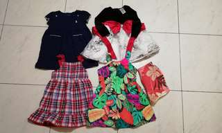 4pcs Dress for 18-24months