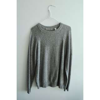 Country Road - Grey Knit Jumper Size S