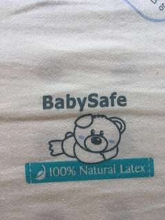Excellent quality 100% Latex baby cot mattress with bedsheets