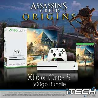 Xbox One S 500GB Assasin's Creed Bundle