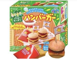 日本玩具漢堡+薯條,自己動手作作看💪