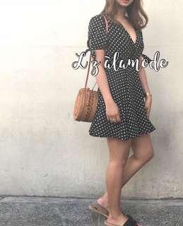 Summer Polka Dots Dress