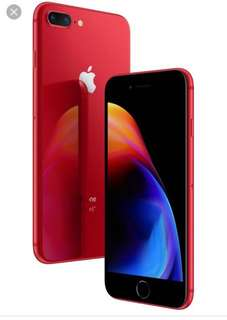 IPhone 8 Plus , 64gb RED brand new