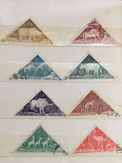 Republique duTchad Stamps