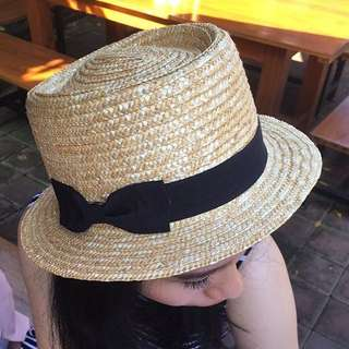 Cotton On Betty Boater Hat