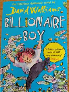 David Williams - Billionaire Boy