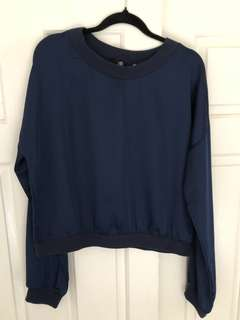 Missguided Navy top