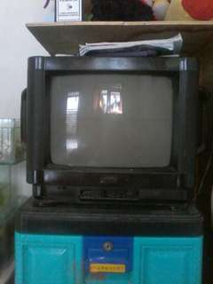 Tv bekas mati total