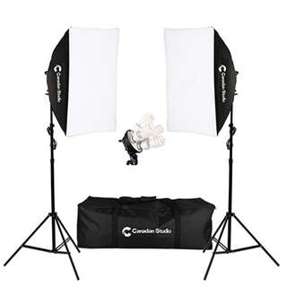 1600W Video/Photo Studio lighting Softbox light kit