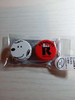 Snoopy contact lens case,made in japan