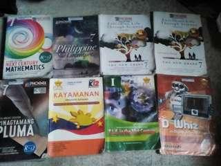 Grade 7 Textbooks 8pcs
