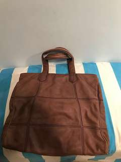 Diesel leather bag (85% new)