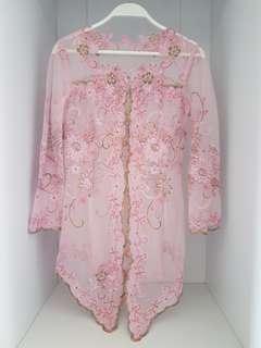 Kebaya Pink Set 2 (Size M)