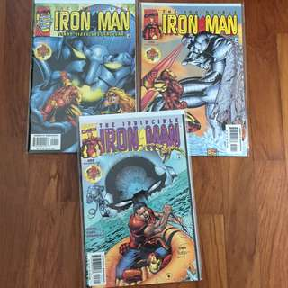 Marvel Comics The Invincible Iron Man #23 #24 #25