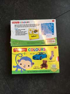 BN Fisher Price Colors Flash Cards (RP$11.66) $9.90