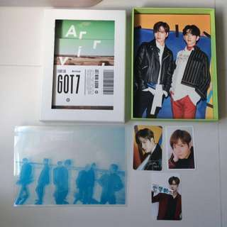 GOT7 Flight Log Arrival Jackson set